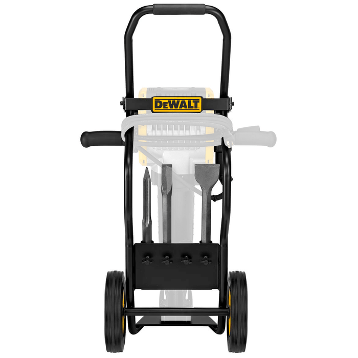 DeWALT D259804 1-1/8-Inch Rubber Wheel Heavy Gauge Breaker Wheel Cart w/ Chisels