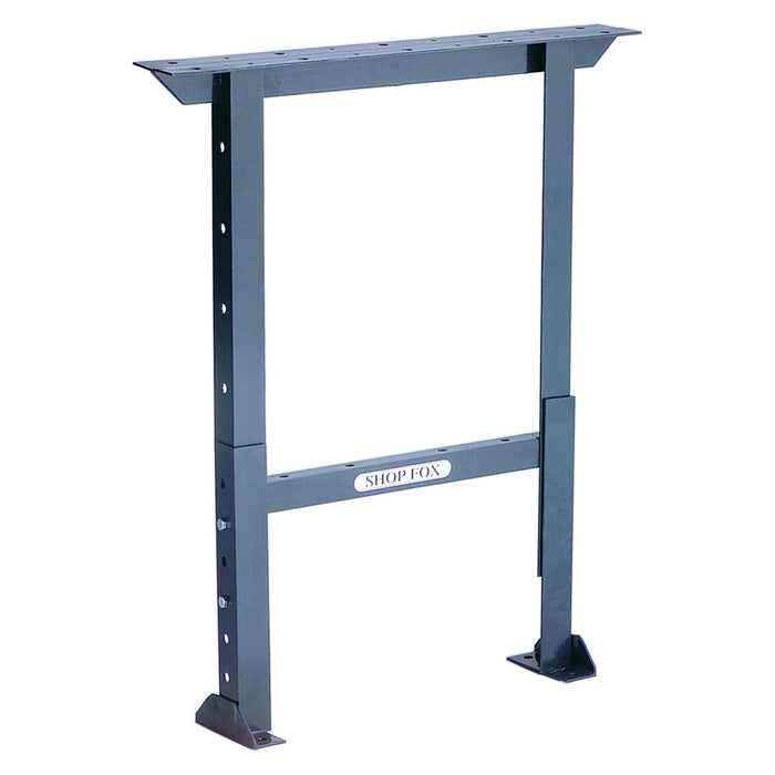 Shop Fox D2659 36 x 28-Inch Heavy Duty Steel Adjustable Workbench Legs
