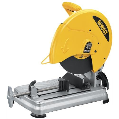 "DeWALT D28715R 14"" Metal Cutting Quick Change Chop Saw (Reconditioned D28715)"