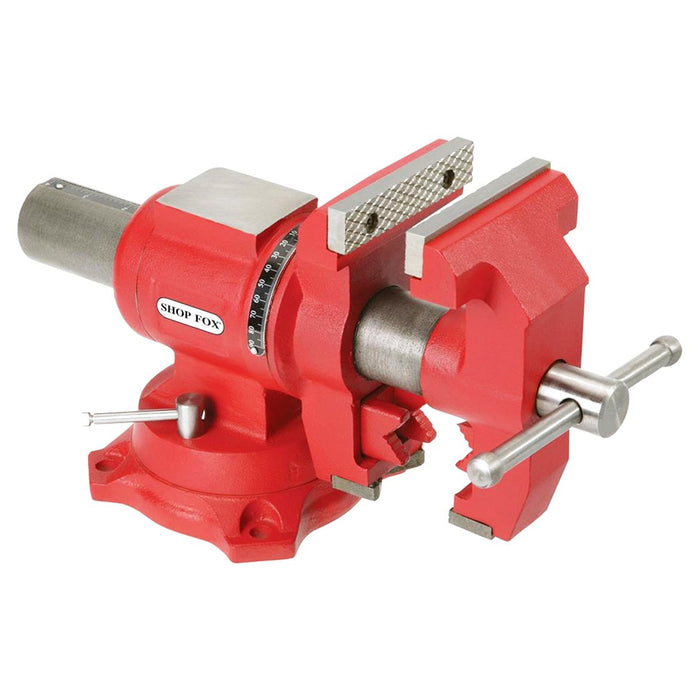 Shop Fox D4093 4-Inch Versatile Rotating Jaw Pipe Jaw Multi Purpose Vise