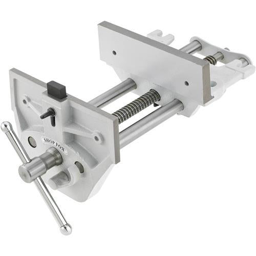 "Shop Fox D4328 9"" Quick Release Wood Vise 10"" Maximum Jaw Opening"