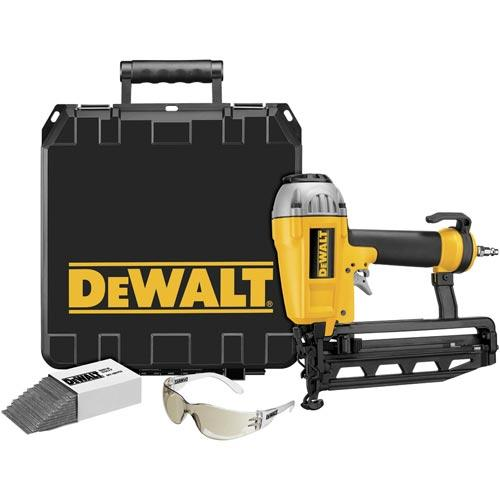 DeWALT D51257K 16 Gauge Finisher Nailer Air Nail Gun Tool