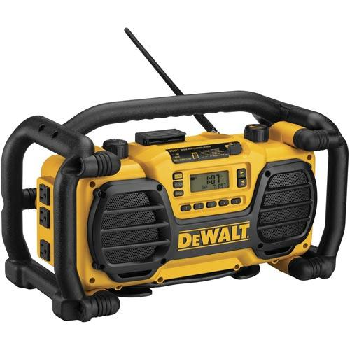 DeWALT DC012R 18V Worksite MP3 Battery Charger Radio (Reconditioned DC012)