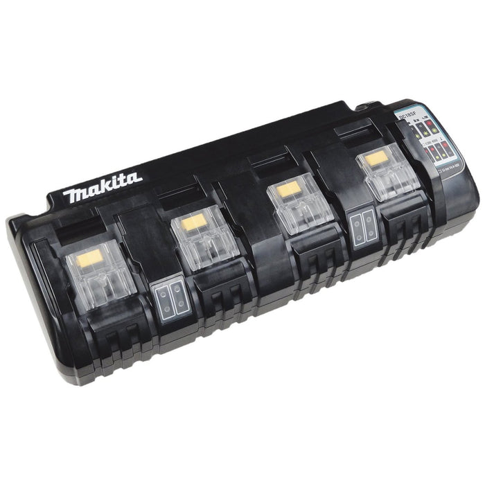 Makita DC18SF 18-Volt Compact Lithium-Ion Rapid Optimum 4-Port Charger