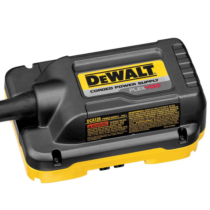 DeWALT DCA120 120-Volt Power Supply for FLEXVOLT Miter Saws