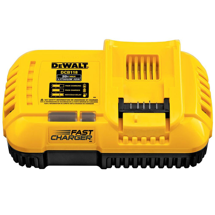 DeWALT DCB118 20V/60V Fan-Cooled Fast Charger