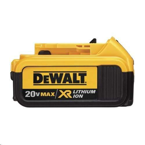 DeWALT DCB204-2 20V MAX XR Lithium-Ion 4 Ah Battery Tool Pack - 2 Pack