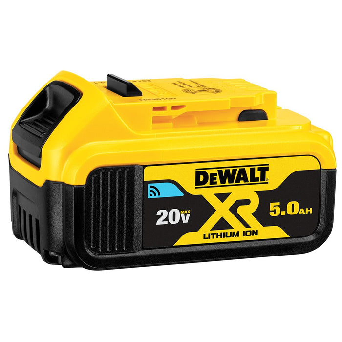 DeWALT DCB205BT 20-Volt MAX 5.0 Ah Premium Lithium-Ion Bluetooth Battery Pack