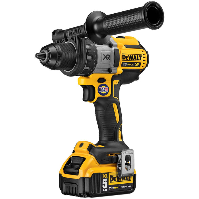 DeWALT DCD991P2 20V 1/2-Inch 3-Speed 5.0Ah Lithium-Ion Drill/Driver Kit