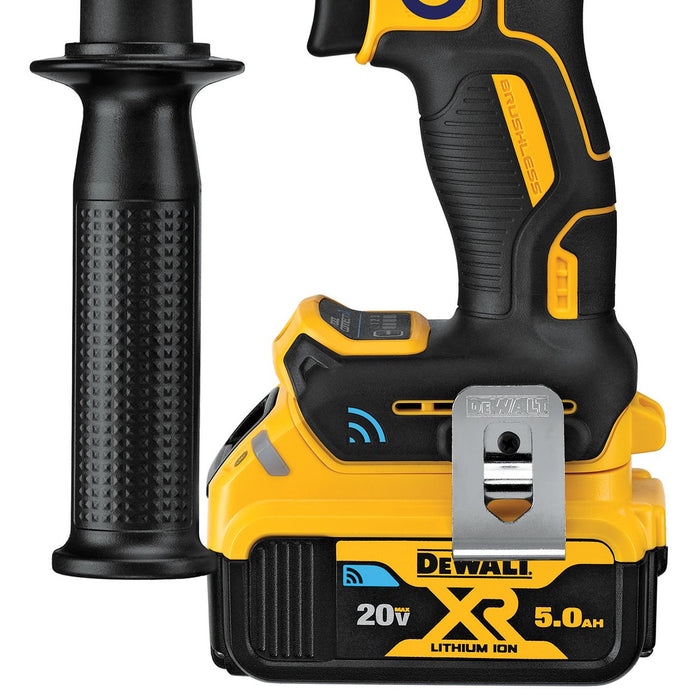 DeWALT DCD997P2BT 20-Volt 1/2-Inch Tool Connect Hammer Drill Kit