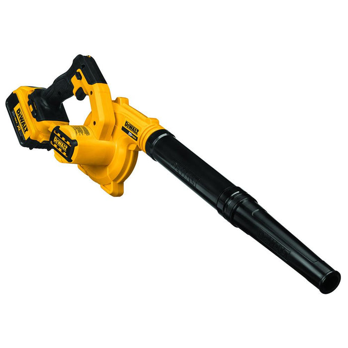 DeWALT DCE100M1 20V 100CFM Variable Speed Compact Jobsite Blower Kit