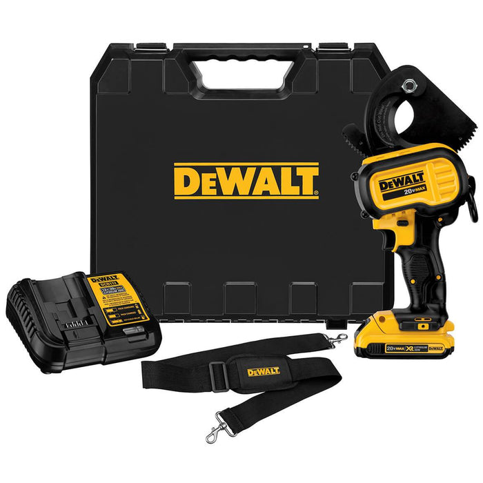 DeWALT DCE150D1 20-Volt Max Heavy Duty Cordless LED Cable Cutting Tool Kit