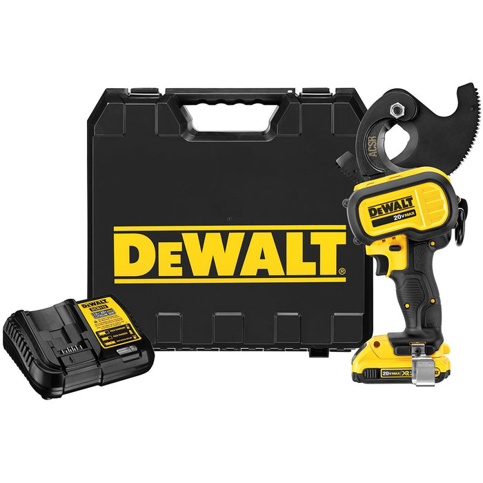 DeWALT DCE155D1 20-Volt MAX Heavy Duty ACSR LED Cordless Cable Cutting Tool