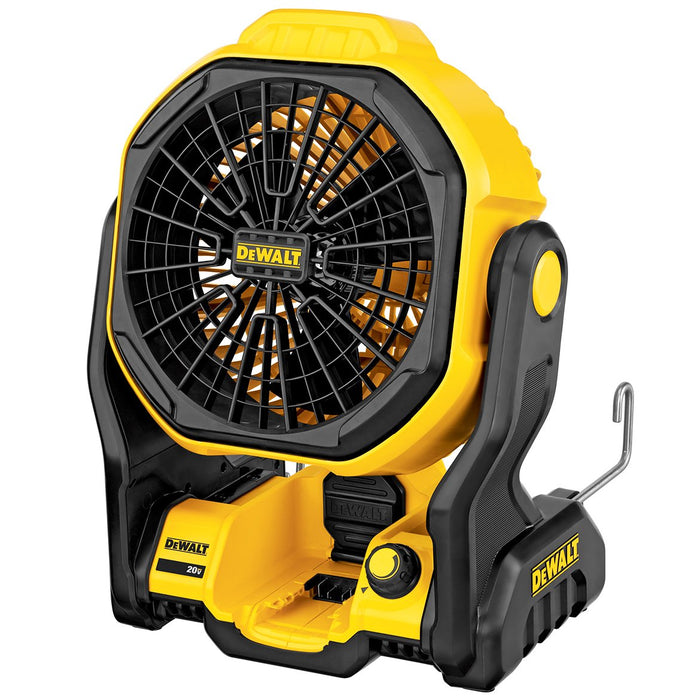 DeWALT DCE511B 20-Volt MAX 11-Inch Durable Cordless/Corded Jobsite Fan