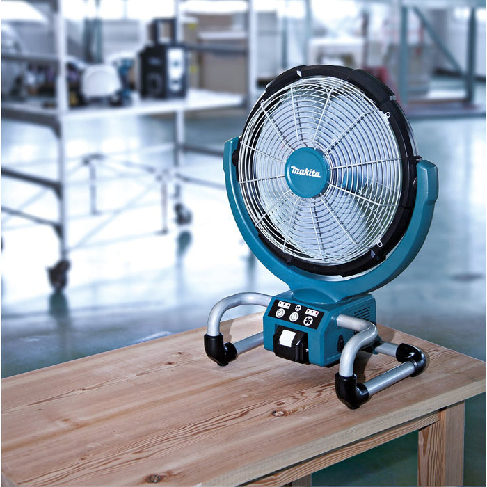 Makita DCF300Z 18-Volt 13-Inch LXT Lithium-Ion Cordless Fan, - Bare Tool