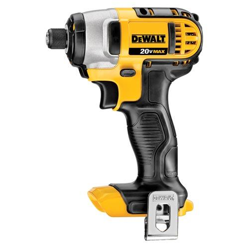 DEWALT DCF885B 20V MAX Cordless Lithium-Ion 1/4-in Impact Driver - Bare Tool