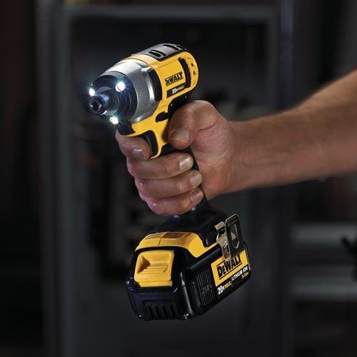 DEWALT DCF885B 20V MAX Cordless Lithium-Ion 1/4-in Impact Driver (Tool Only)
