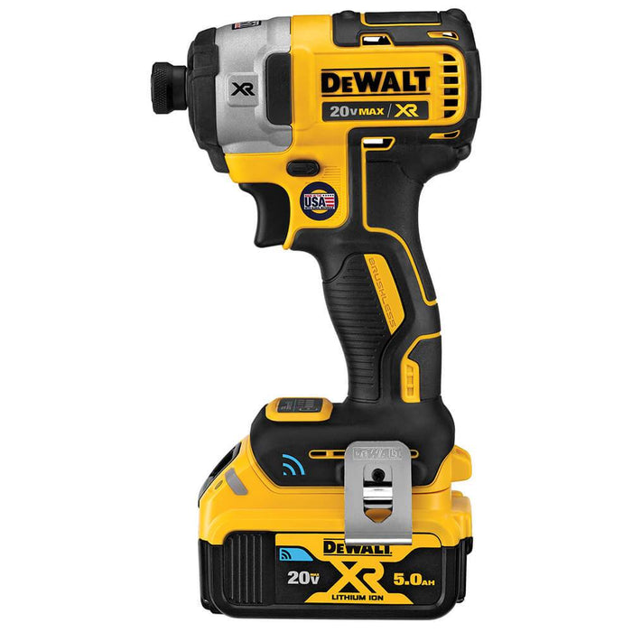 DeWALT DCF888P2BT 20V MAX XR Li-Ion Tool Connect Impact Driver Kit - Bare Tool