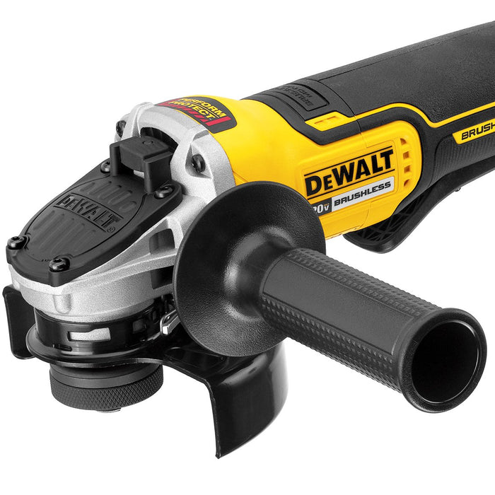 DeWALT DCG413B 20V 4.5-Inch Cordless Paddle Switch Angle Grinder - Bare Tool