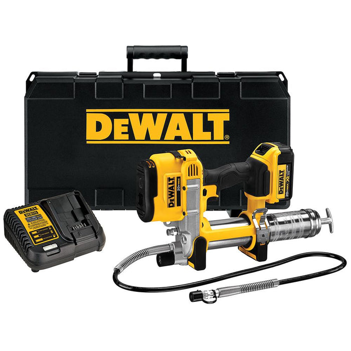 DeWALT DCGG571M1R  20-Volt Max Lithium-Ion LED Grease Gun Kit - Reconditioned