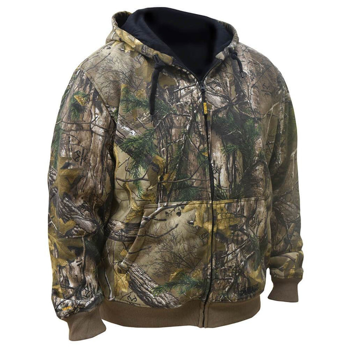 DeWALT DCHJ074D1-L 20-Volt Heated Realtree XTRA Hoodie Kit, Camo - Large