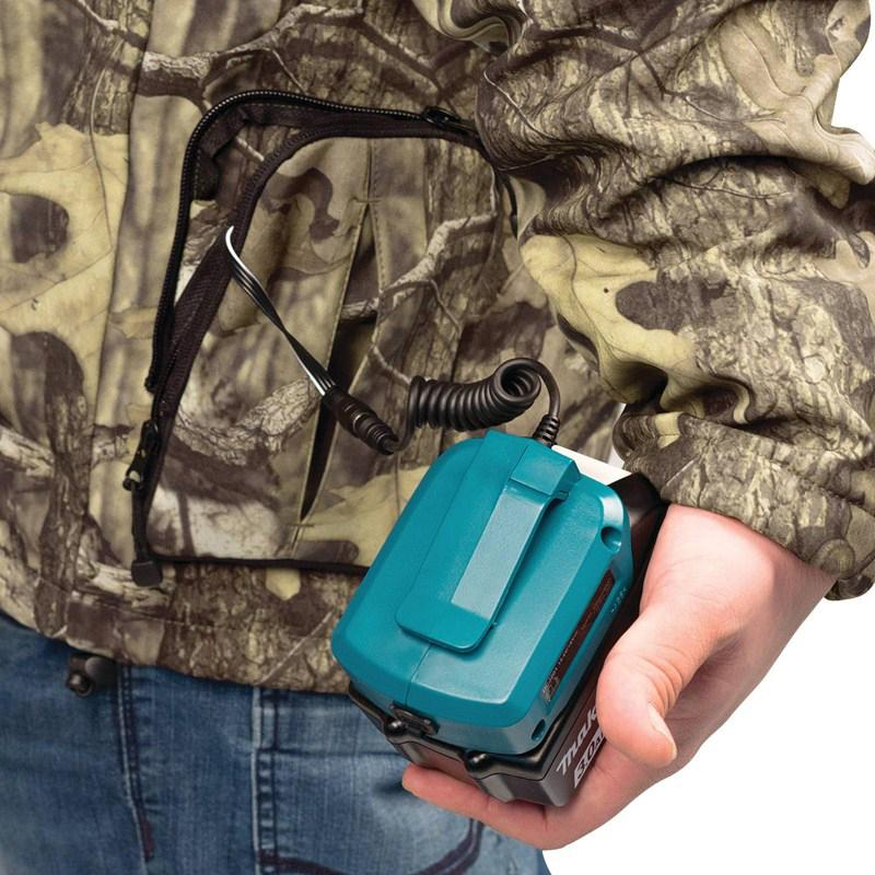 aa5aaa31f5189 Makita DCJ201ZL Camo 18-Volt LXT Lithium-Ion Heated Jacket - Large, Ba —  Factory Authorized Outlet