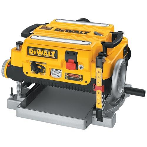 "DeWALT DW735 13"" Three Knife Two-Speed Thickness Planer"
