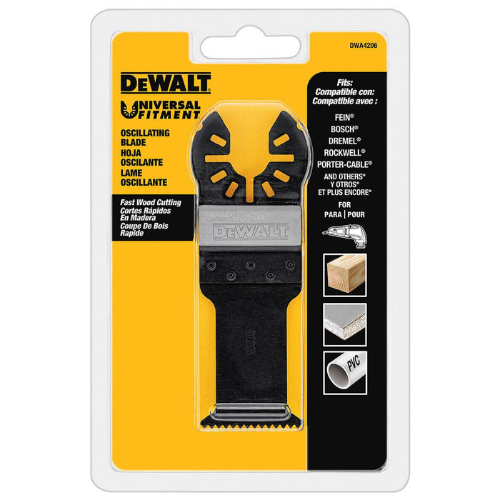 DeWALT DWA4206 Oscillating Fastcut Wood Blade for Oscillating Multi-Tool