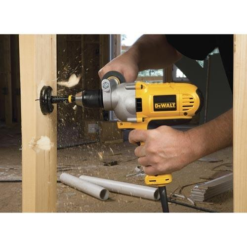 DeWALT Heavy-Duty 1/2'' VSR Mid-Handle Grip Drill with Keyless Chuck DWD215G