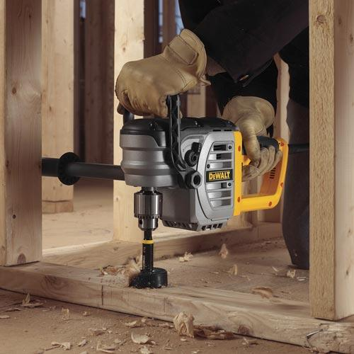 DEWALT DWD460 11 Amp 1/2-Inch Right Angle Stud & Joist Drill w/ Bind-Up Control