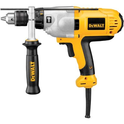 DeWALT DWD525K 1/2-in VSR Mid-Handle Grip Hammer Drill Kit