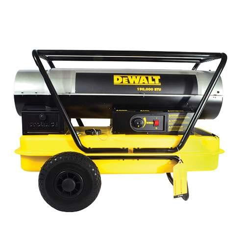 DeWALT DXH190HD Portable 190,000 BTU Forced Air Kerosene Space Heater