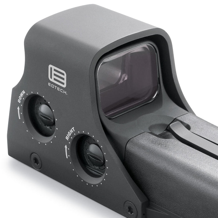 EOTech 512.A65 1 x 68 MOA Weaver Mount Holographic Red Dot Sight - Black