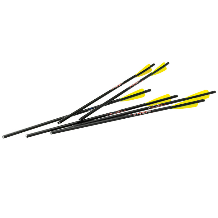 Excalibur 72-22CAV 20-Inch 265-Grain Reinforced FireBolt Carbon Arrows - 72pk