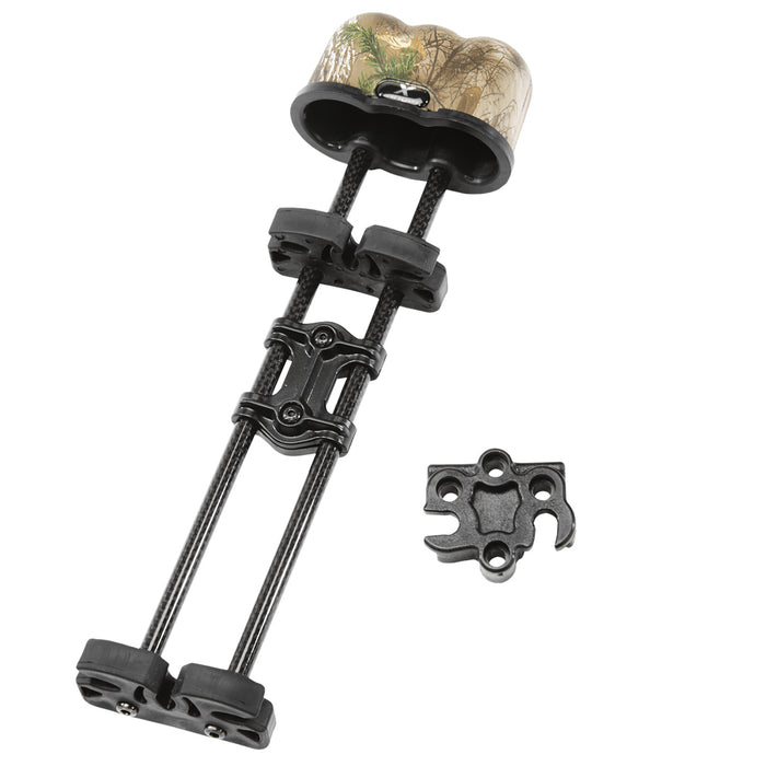 Excalibur 95862 3-Hanger Multi-Positional X-Hanger Quiver - Realtree Xtra