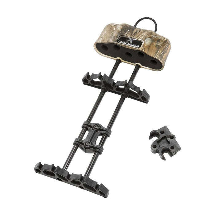 Excalibur 95864 5-Hanger Multi-Positional X-Hanger Quiver - Realtree Xtra