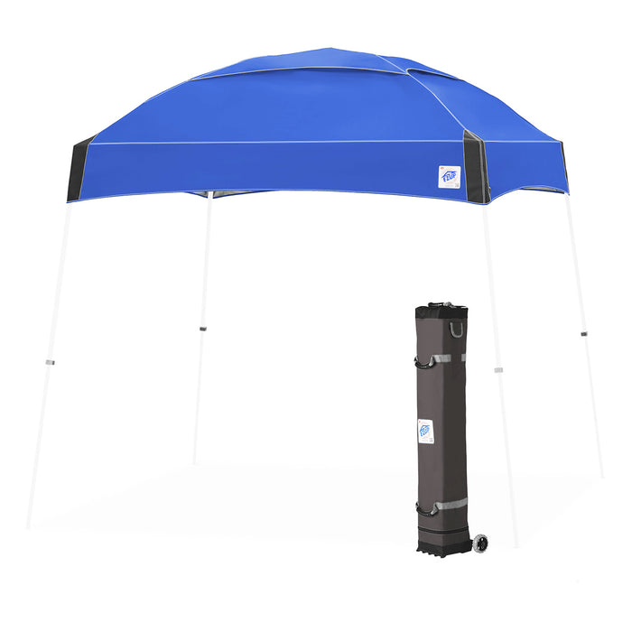 E-Z UP DM3WH10RB 10 x 10-Foot Dome Instant Shelter Canopy, Royal Blue/White
