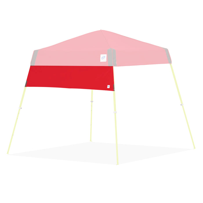 E-Z UP HW3PN8SALGY 8-Foot Angle Leg Recreational Shelter Half Wall, Punch
