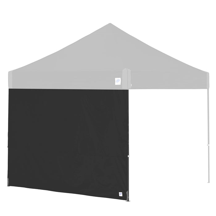 E-Z UP SW3BK10SLGY 10-Foot Straight Leg Recreational Shelter Sidewall, Black