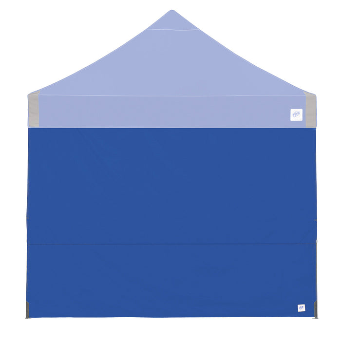 E-Z UP SW3RB10SLGY 10-Foot Fabric Straight Leg Shelter Sidewall, Royal Blue