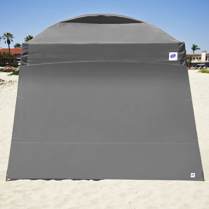 E-Z UP SW3SG10ALGY 10-Foot Angle Leg Recreational Shelter Sidewall, Steel Gray