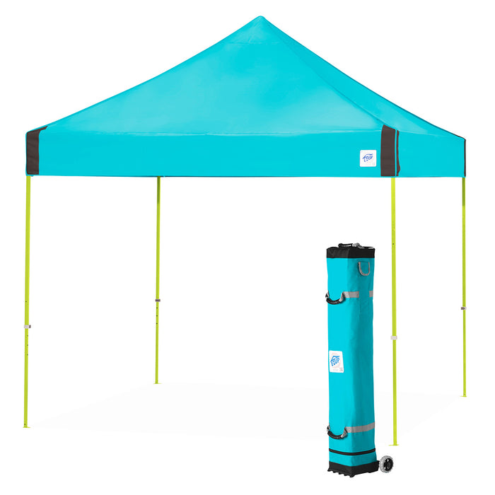 E-Z UP VG3LA10SP 10 x 10-Foot Vantage Instant Shelter Canopy, Splash/Limeade