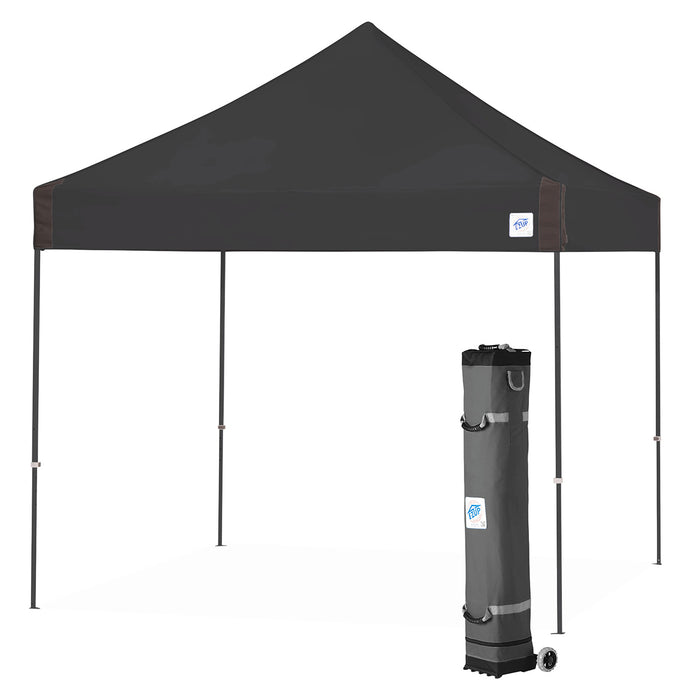 E-Z UP VG3SG10BK 10 x 10-Foot Vantage Instant Shelter Canopy, Black/Steel Gray