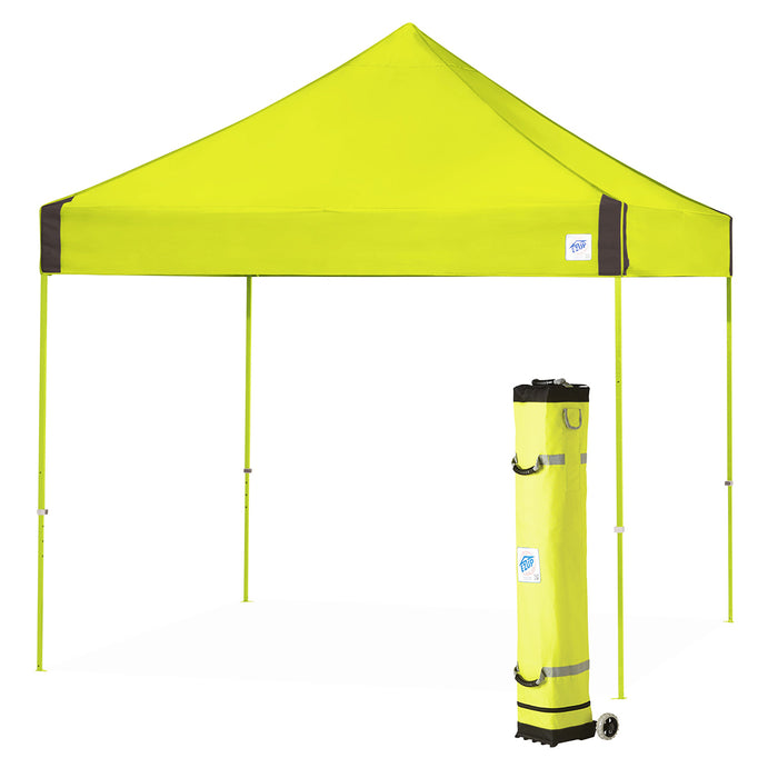 E-Z UP VG3SG10LA 10 x 10-Foot Vantage Instant Shelter Canopy, Limeade/Steel Gray