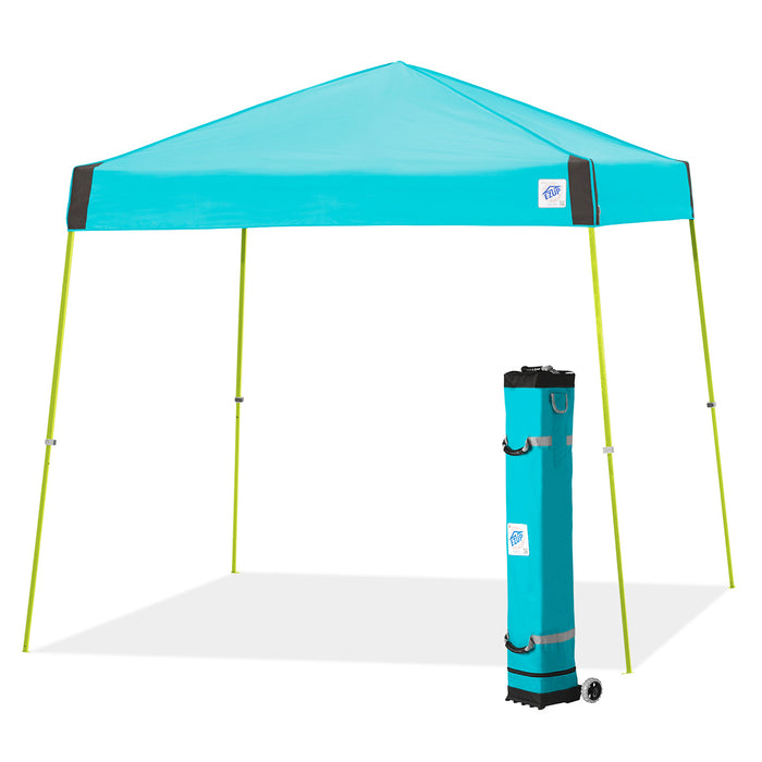 E-Z UP VS3LA10SP 10 x 10-Foot Vista Instant Shelter Canopy, Splash/Limeade