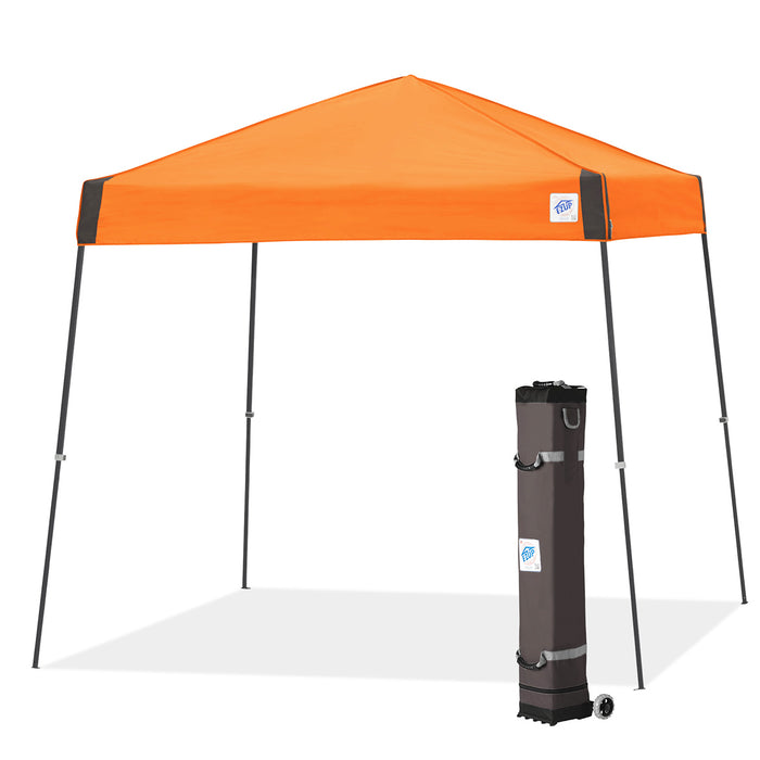 E-Z UP VS3SG10SO 10 x 10-Foot Vista Shelter Canopy, Steel Orange/Steel Gray
