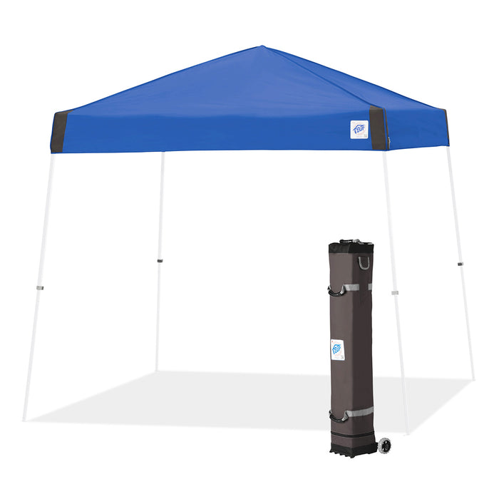 E-Z UP VS3WH10RB 10 x 10-Foot Vista Instant Shelter Canopy, Royal Blue/White