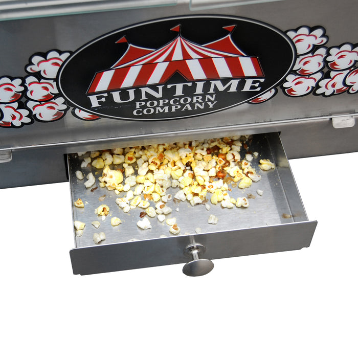 FunTime FT1626PP Palace Popper 16 Oz Commercial Bar Style Popcorn Popper Machine