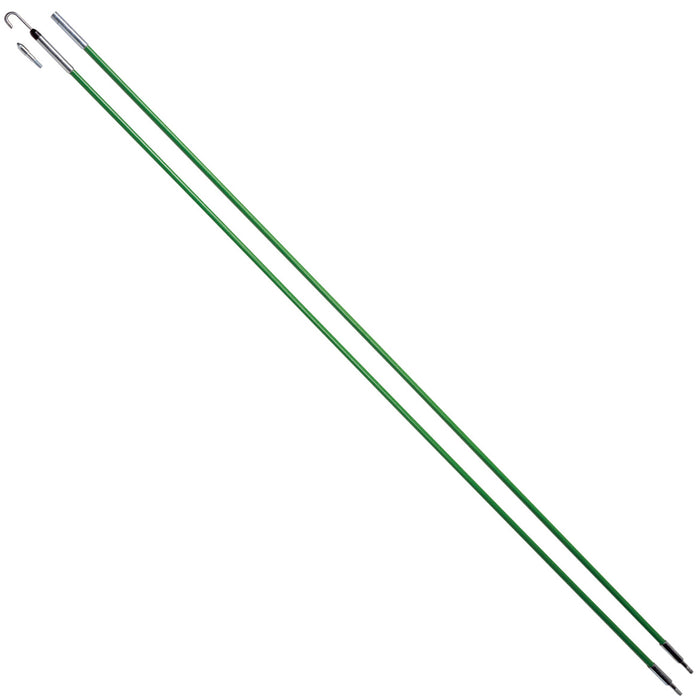 Greenlee 540-12 1/4-Inch x 12-Feet Durable Fish Stix Kit w/ Threaded Tips
