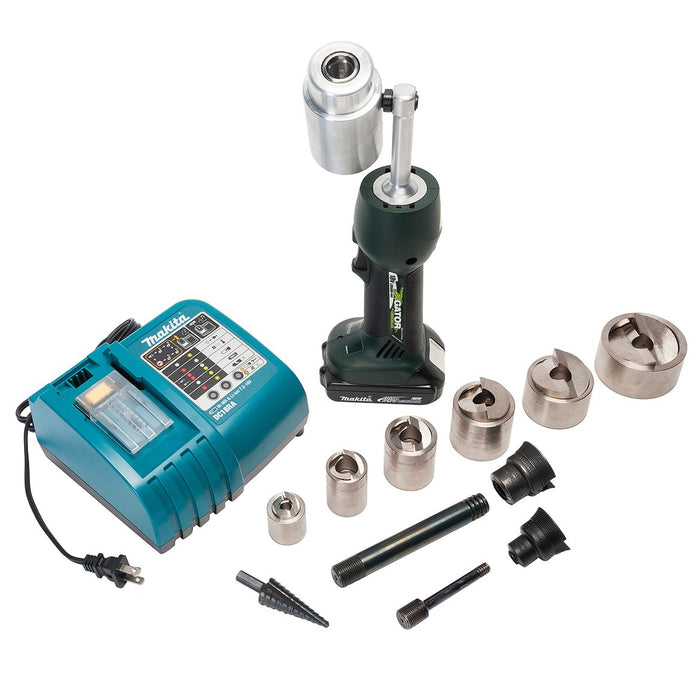 Greenlee LS50L11SBSP Mild Steel Speed Knockout Punch Kit for 1/2-2-Inch Conduit